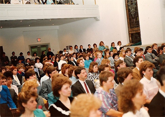 Reactivation of Omicron Chapter in 1987.