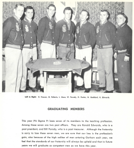 1958 Omega Graduating Brothers