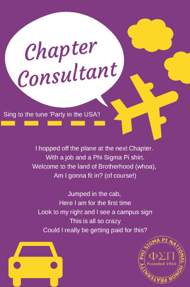Chapter Consultant