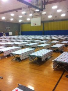 American Red Cross Cots