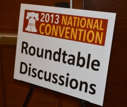 Roundtables Sign