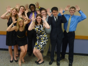 Epsilon Theta Chapter at this year's Mid South Regional Conference