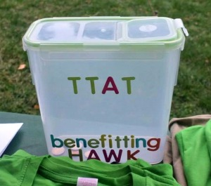 The TTAT benefits the Help a Willing Kid Foundation (HAWK).