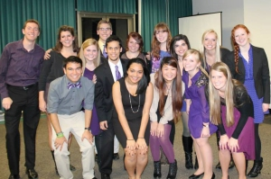 Zeta Class Induction at the Beta Lambda Chapter at American University