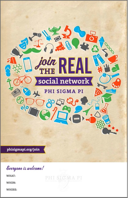 Join the Real Social Network Poster