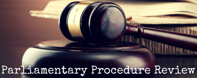 Parliamentary Procedure Review w name