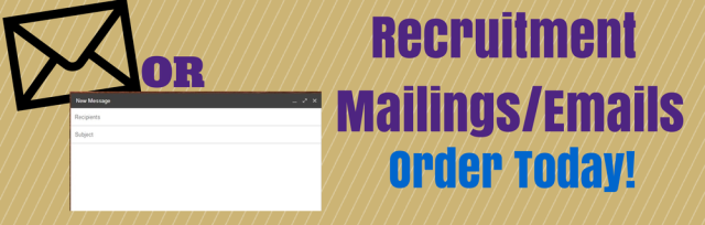 Recruitment Email-Mailing