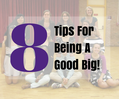 8 Tips For Being a Good Big | Phi Sigma Pi National Honor Fraternity