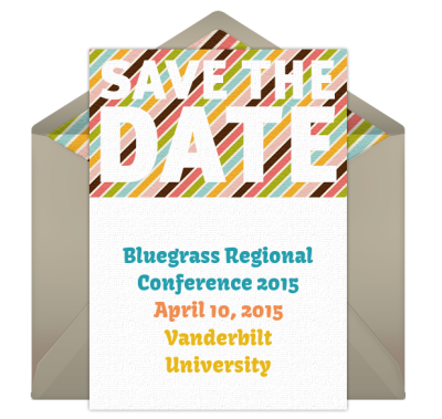 Bluegrass Regional Conference Save the Date