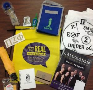 Phi Sigma Pi Prize Pack