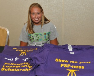 Sell your Chapter's Phi Sigma Pi apparel at Chapter Bazaar!