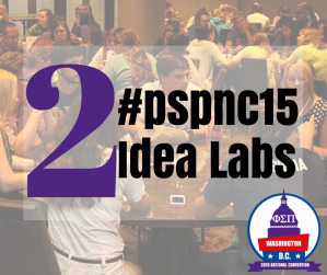2015 National Convention Idea Labs