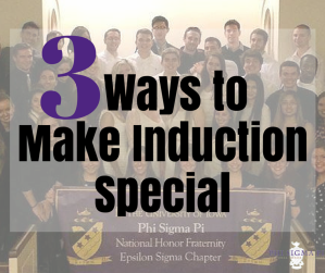 3 Ways to Make Induction Special