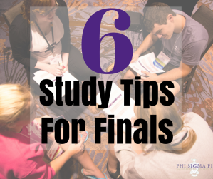6 Study Tips for Finals