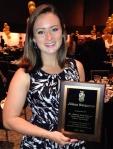 Jillian Burgoyne, 2014 Richard Cecil Todd & Clauda Pennock Todd Tripod Scholarship Recipient