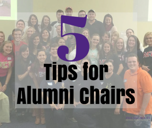 5 Tips for Alumni Chairs
