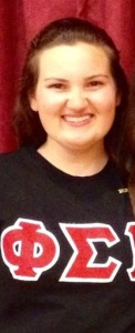Paige Pacheco (Gamma Pi Chapter '17)