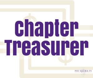 Chapter Treasurer