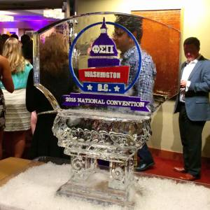2015 National Convention Ice Sculpture