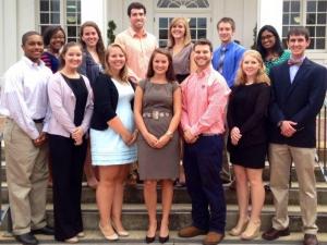 The Gamma Omicron Chapter at Auburn University