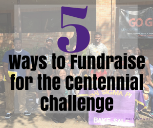 5 Tips to Fundraise for the Centennial Challenge