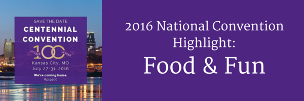 2016 National Convention Highlight- Food & Fun