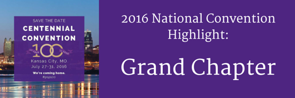 National Convention Highlight: Grand Chapter