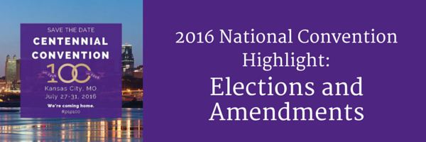 2016 National Convention Highlight- NC and Amendments