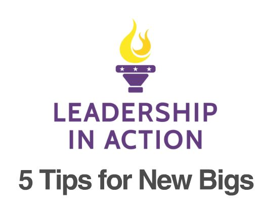 5 Tips For New Bigs