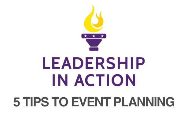 5 Tips To Event Planning
