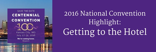 2016 National Convention Highlight- Getting to hotel