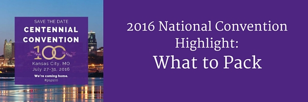 2016 National Convention Highlight- Pack