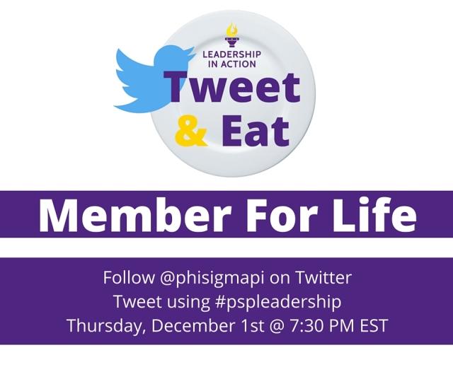 Member For Life Tweet & Eat