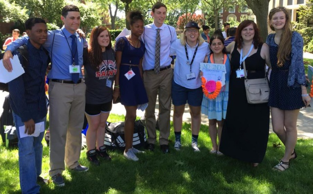 Kate with her HOBY Ambassadors